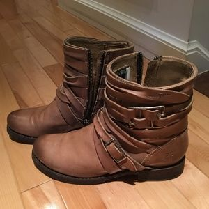 Frye Veronica Strappy Boots